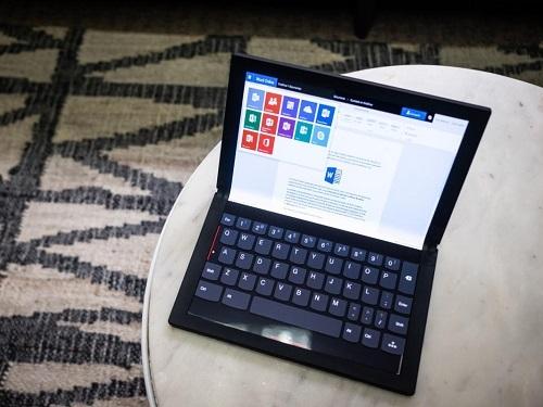 Đột phá cuối cùng của các nhà sản xuất PC là tạo ra mẫu máy tính nhỏ gọn, có khả năng chuyển đổi linh hoạt theo mục đích sử dụng như Lenovo ThinkPad X1 Fold.