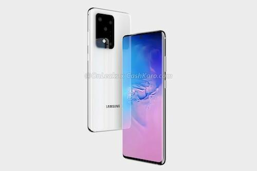 Galaxy S20 Ultra là smartphone đầu tiên có 16 GB RAM.Ảnh: OnLeaks