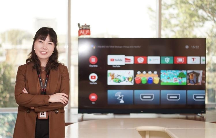 Bà Summer Gao - Tổng giám đốc TCL Việt Nam.