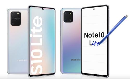 Galaxy S10 Lite và Note 10 Lite có cấu hình cùng mức giá bán tốt.