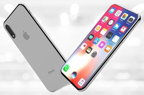 Ảnh dựng iPhone 2020 không tai thỏ của nhà thiết kế Milos Toman.