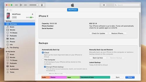Nếu không muốn người khác giải mã và đọc được tin nhắn riêng tư, người dùng iOS chỉ có cách vô hiệu hóa iCloud Backup trên thiết bị iOS và tính năng sao lưu của iTunes trên máy tính. Ảnh: 9to5mac.