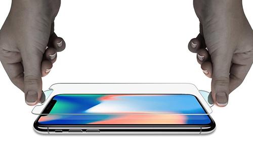 Kính cường lực được sử dụng phổ biến nhất trên smartphone.