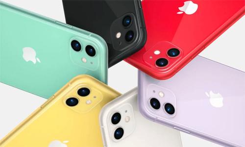 Apple có một quý khởi sắc nhờ iPhone 11. Ảnh: Apple.