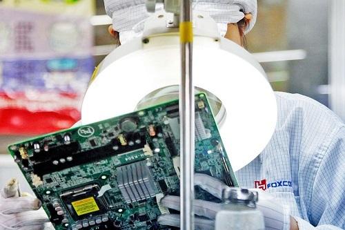 Foxconn đã tiến hành các biện pháp kiểm soát rủi ro trong bối cảnh virus corona lây lan nhanh chóng ở Trung Quốc. Ảnh: Baron.