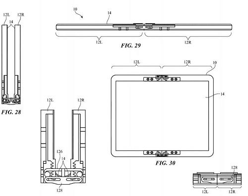 Hình ảnh minh họa trong bằng sáng chế của Apple. Ảnh: MacRumors.
