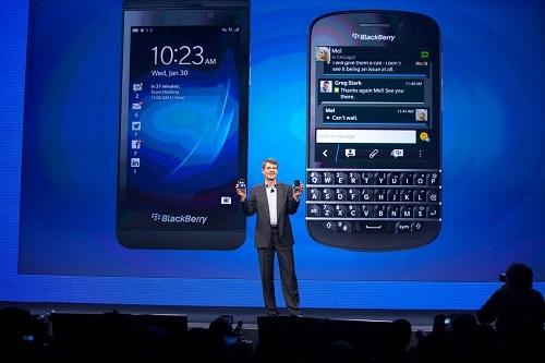 Hệ điều hành BlackBerry 10 không thể thành công như kỳ vọng vì ra mắt muộn. Ảnh. ABC.