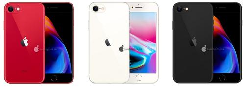 iPhone 9 có ba màu.