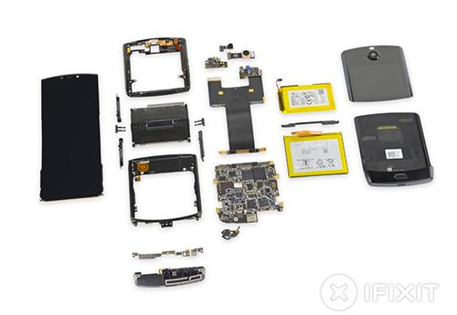 Toàn bộ linh kiện Motorola Razr 2019.