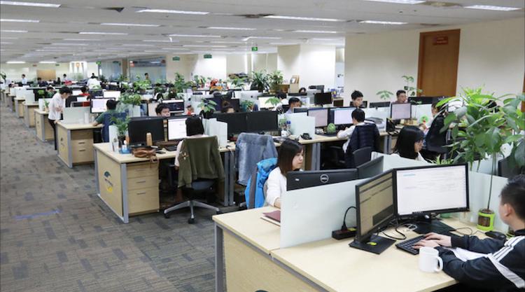 Đội ngũ nhân sự chuyên gia công nghệ tại VCS.