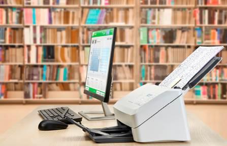 Máy scan HP giúp doanh nghiệp số hóa tài liệu - 1