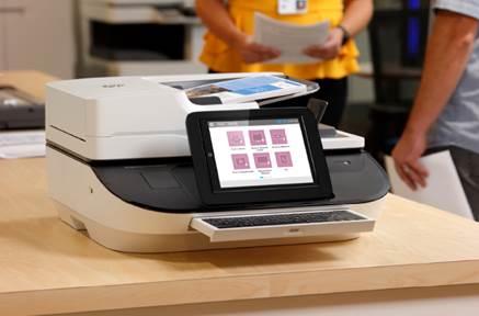Máy scan HP giúp doanh nghiệp số hóa tài liệu - 2