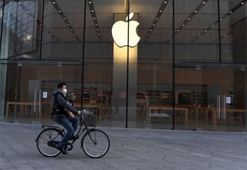 Apple Store tạm đóng cửa tại Trung Quốc trong tháng một vừa qua.