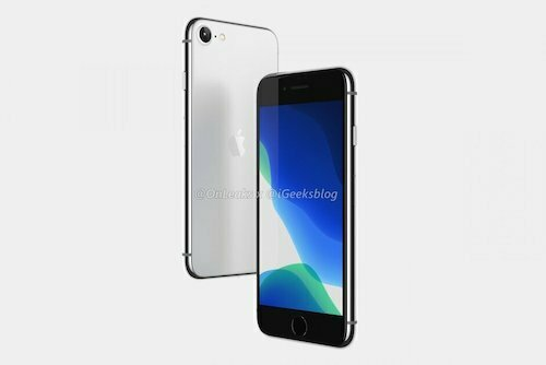 Ảnh dựng iPhone 9 của OnLeaks.