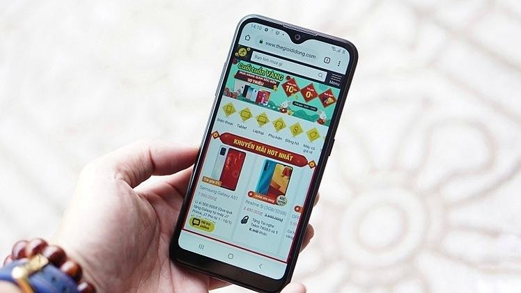 Galaxy A01 lên kệ độc quyền tại Thế Giới Di Động cùng ưu đãi trả góp 0%, riêng trong 2 ngày 22-23/2, khách hàng được giảm ngay 300.000 đồng.