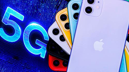 Apple cần iPhone 5G để thúc đẩy doanh số sau thời gian bị ảnh hưởng bởi Covid-19. Ảnh: Reuters.