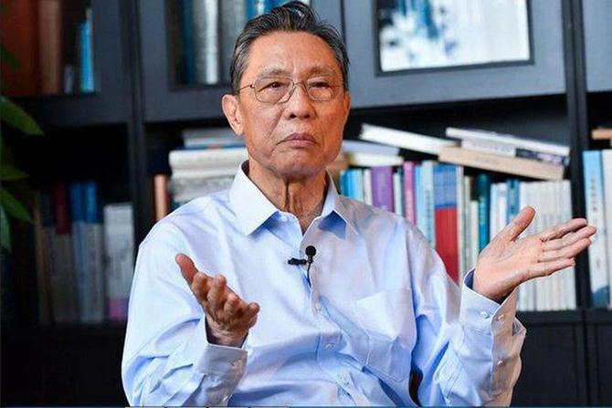 Zhong Nanshan. Ảnh: Xinhua