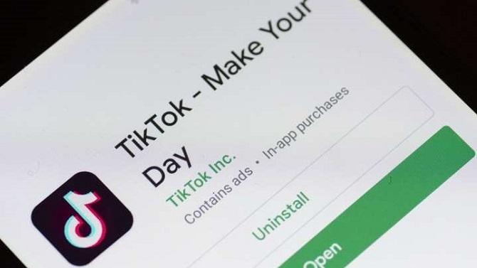 TikTok đã soán ngôi của WhatsApp để trở thành ứng dụng tải nhiều nhất thế giới trong tháng 1/2020. Ảnh: MSN.
