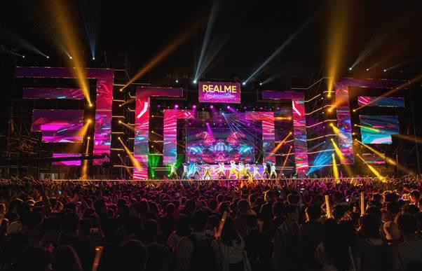Đại nhạc hội của Realme tại Hà Nội.