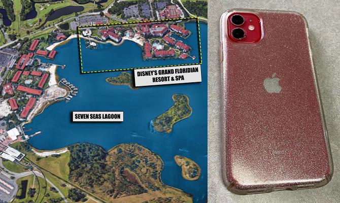 Chiếc iPhone 11 vẫn hoạt động bình thường sau hai tháng chìm dưới đáy đầm Seven Seas. Ảnh: Mac Rumors.