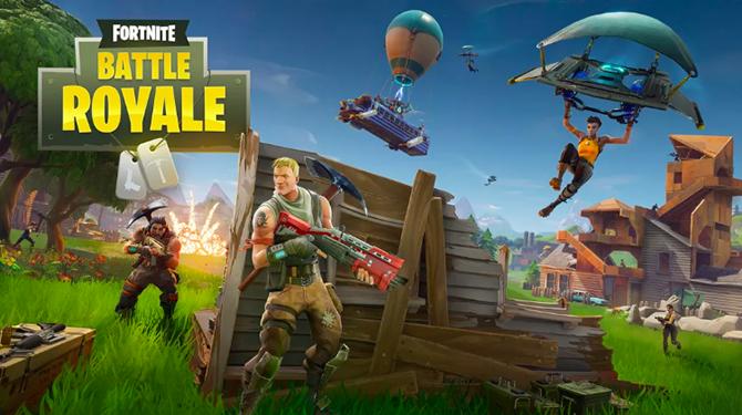 Fortnite là một trong những game di động được chơi nhiều nhất thế giới.