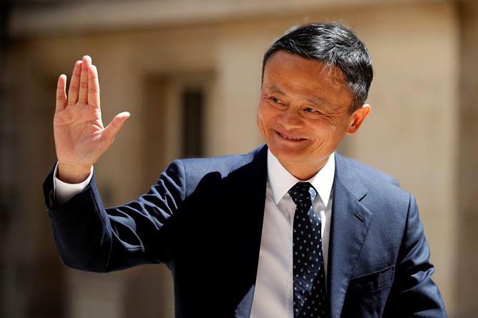 Jack Ma. Ảnh: Reuters.