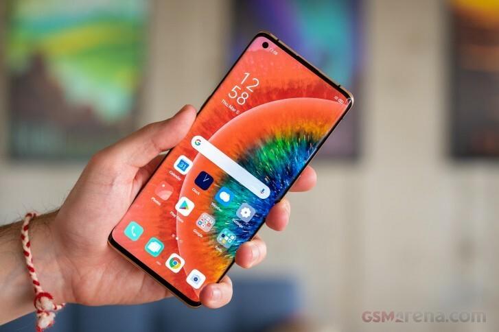 Find X2 Pro chưa có mặt ở Việt Nam nhưng là smartphone mạnh nhất thế giới tính đến tháng 3/2020. Ảnh: GSM Arena.