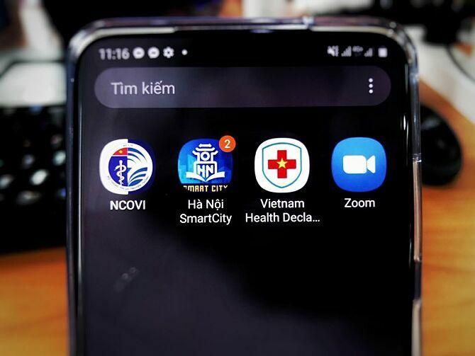 Các ứng dụng khai báo sức khỏe và theo dõi tình hình Covid-19 được người Việt tải về nhiều.