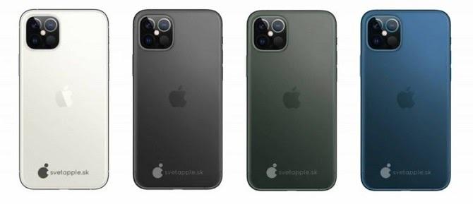 iPhone 12 Pro và iPhone 12 Pro Max được cung cấp với bốn tùy chọn màu sắc. Ảnh: Svet Apple.