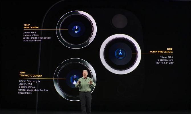 iPhone 11 và iPhone 11 Pro Max chưa hỗ trợ chống rung trên camera siêu rộng. Ảnh: Halide.