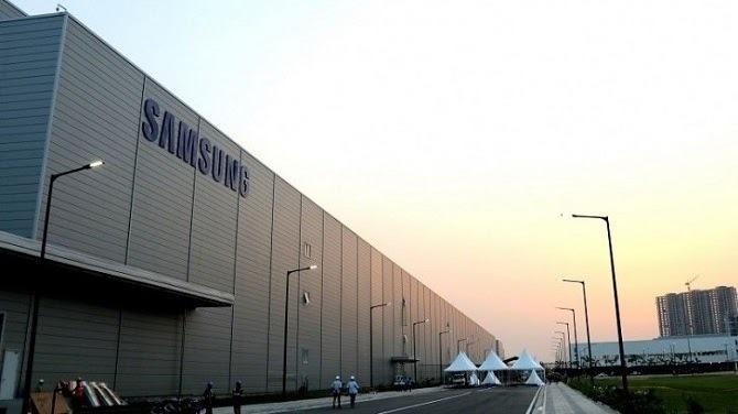 Nhà máy ở Greater Noida là cơ sở sản xuất thiết bị điện tử lớn nhất của Samsung. Ảnh: GSM Arena.