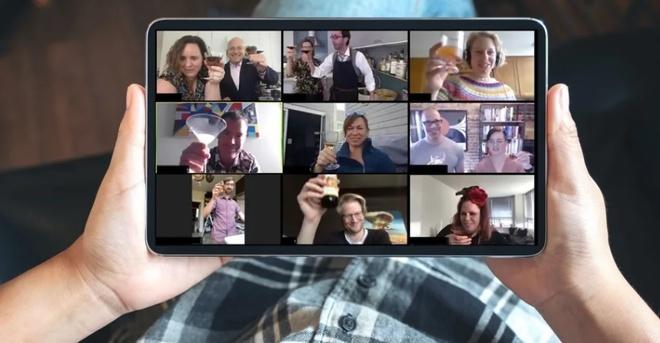 Ngày càng nhiều người dùng Zoom để học tập, làm việc trong bối cảnh Covid-19 bùng phát. Ảnh: Mashable.