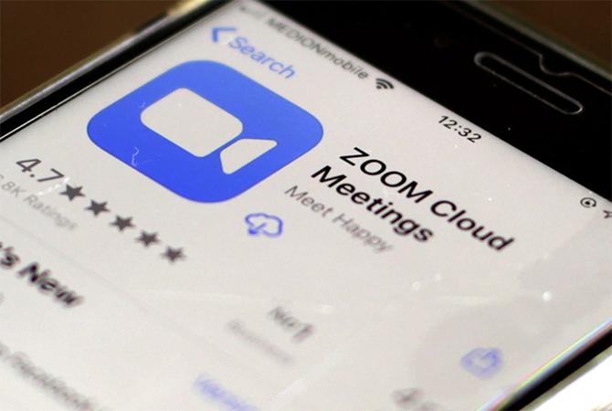 Ứng dụng Zoom không có tính bảo mật cao. Ảnh: SCMP