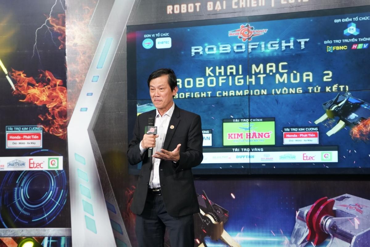 Theo ông Đỗ Phước Tống - Chủ tịch Hội doanh Nghiệp Cơ khí - Điện TP HCM (HAMEE), giải đấu không chỉ là nơi giao lưu, kết nối và hợp tác giữa các doanh nghiệp hội viên, các đơn vị trong và ngoài HAMEE, mà còn là diễn đàn trao đổi kỹ thuật và công nghệ liên quan đến robot nhằm bắt kịp xu hướng robot hóa đang phát triển mạnh mẽ cùng với cách mạng công nghệ lần thứ 4 đang diễn ra.