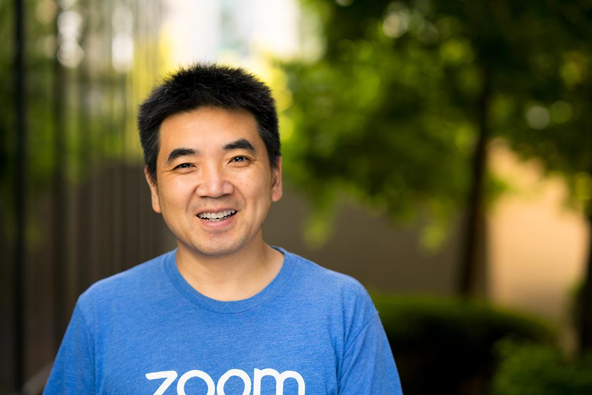 CEO Zoom Eric Yuan. Ảnh: Thrive Global.