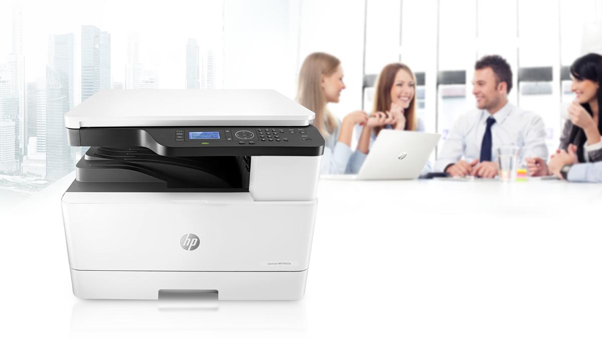 Máy in đa năng LaserJet MFP M433a đáp ứng tốt nhu cầu in ấn của doanh nghiệp vừa và nhỏ.