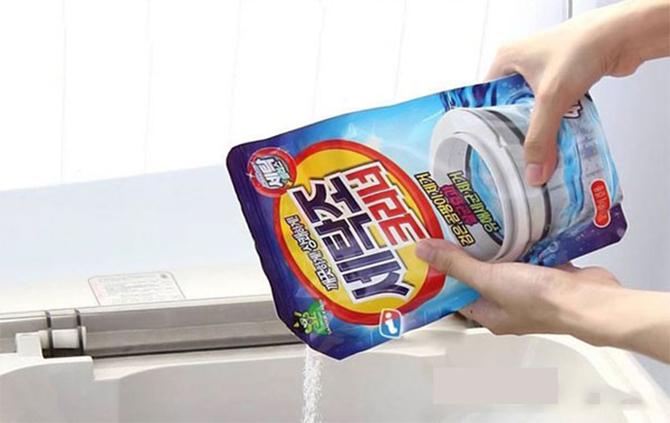 Bột tẩy rửa chỉ có tác dụng hỗ trợ quá trình làm sạch.