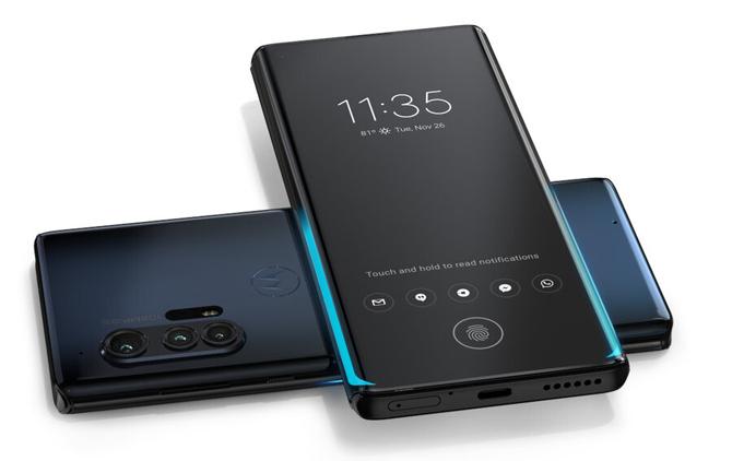 Edge+ có sạc nhanh 18W giống iphone 11 và sạc không dây ngược.