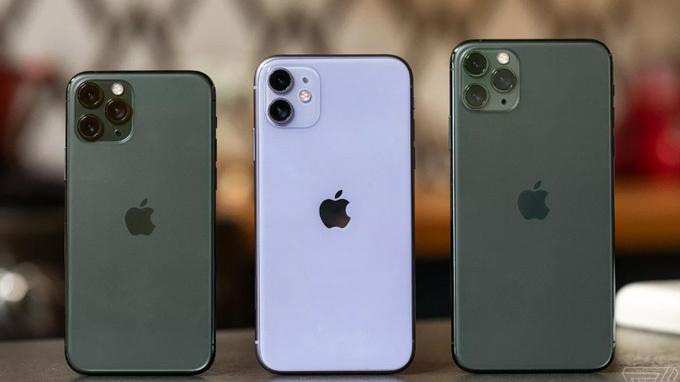 iPhone 11 đang là model phổ biến nhất của Apple. Ảnh: Cnet.