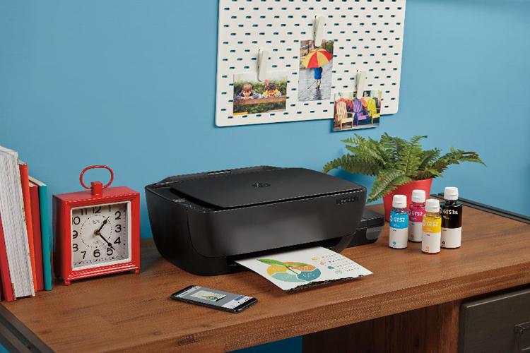 HP Ink Tank có thiết kế thông minh và năng suất in cao.