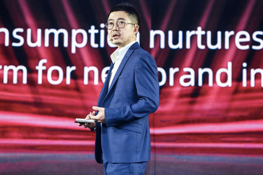 Tưởng Phàm sinh năm 1985, gia nhập Alibaba từ 2013 và thăng tiến nhanh chóng trong tập đoàn. Ảnh: Techinfo.