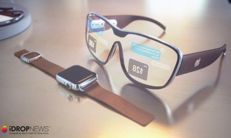 Apple Glass sẽ có cách hoạt động tương tự Apple Watch. Ảnh: iDropNews.