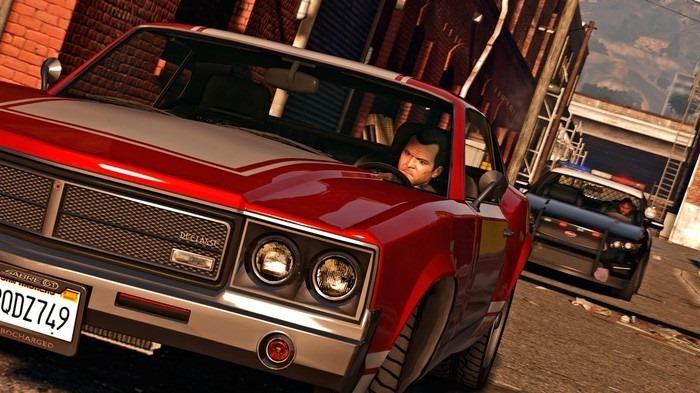Việc lái xe trong game Grand Theft Auto V trở nên bớt khó khăn hơn đối với Hilmann khi cậu sử dụng phần mềm tự động do mình phát triển. Ảnh: GTA V.