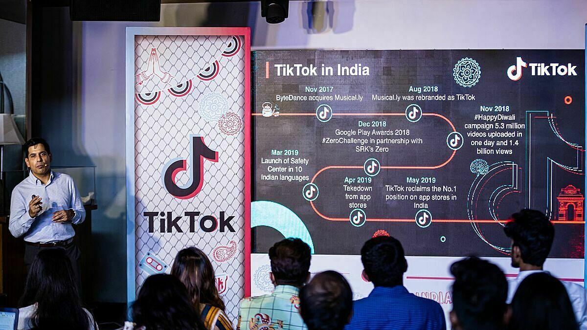 Sự lớn mạnh của TikTok và các mạng xã hội made in China đang đe doạ vị thế số một của Mỹ tại các quốc gia đang phát triển. Ảnh: ByteDace.