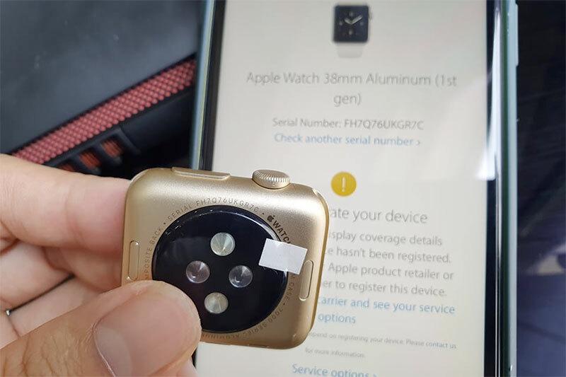 Apple Watch series vẫn còn xuất hiện trên thị trường nhưng với giá chỉ hơn 1 triệu đồng.