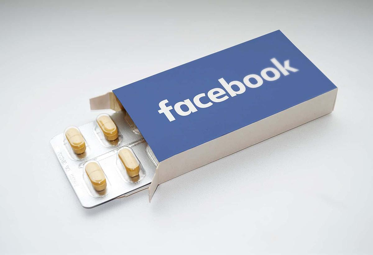 Facebook bị tố cho người dùng bán các loại thuốc cấm công khai. Ảnh: Gulu.