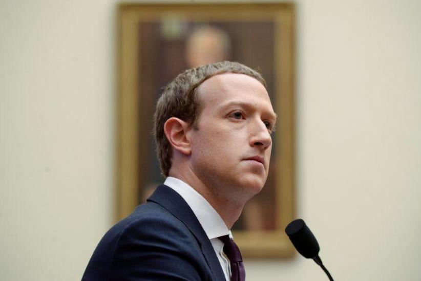 CEO Facebook Mark Zuckerberg. Ảnh: Reuters.