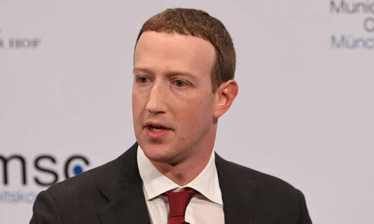 Zuckerberg không xóa bài đăng của Trump vì nội dung không vi phạm điều khoản Facebook. Ảnh: Reuters.