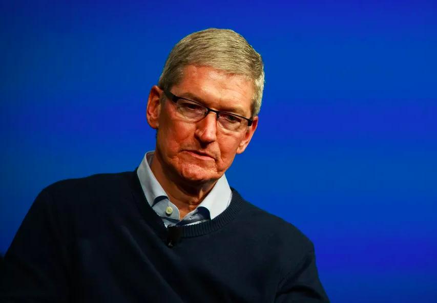CEO Apple, Tim Cook. Ảnh: Cnet.