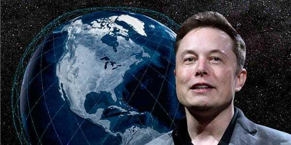 Elon Musk lo lắng cho dự án Internet vệ tinh